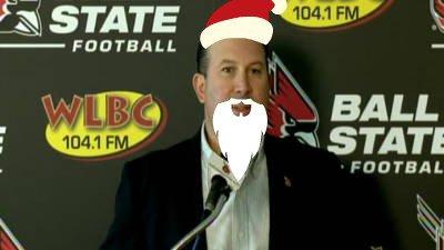 Pete Lembo Santa