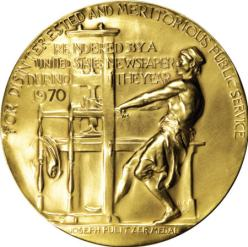 This is a Pulitzer medal. At the end of our careers, Jason Whitlock and I will have the exact same number of them.
