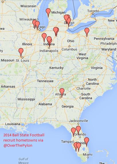 Ball State Recruits 2014