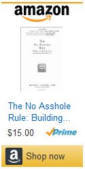 No Asshole Rule Amazon