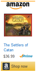 Settlers of Catan Amazon