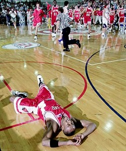 I guess if you beat a Top 5 team at the buzzer, you can take a breather.